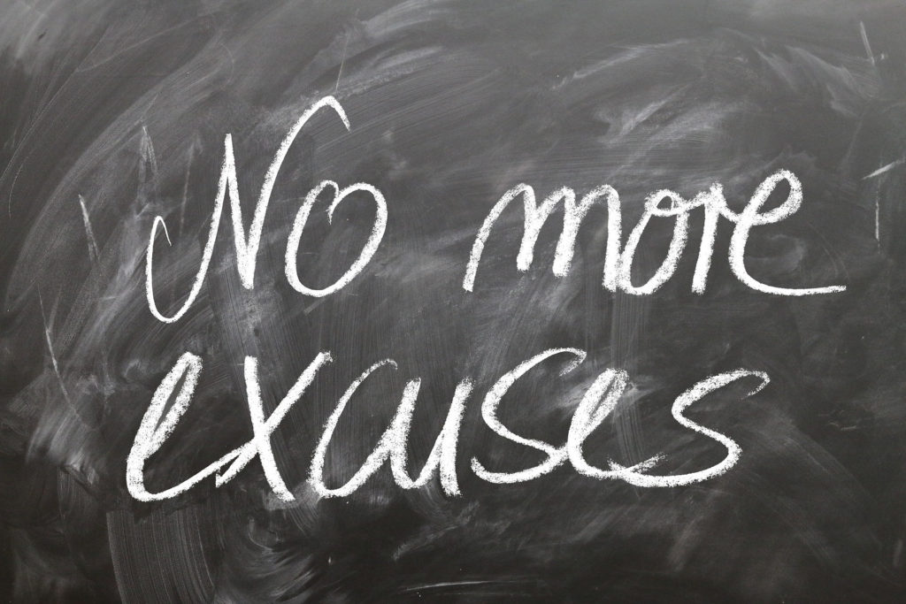 no more excuses to workout